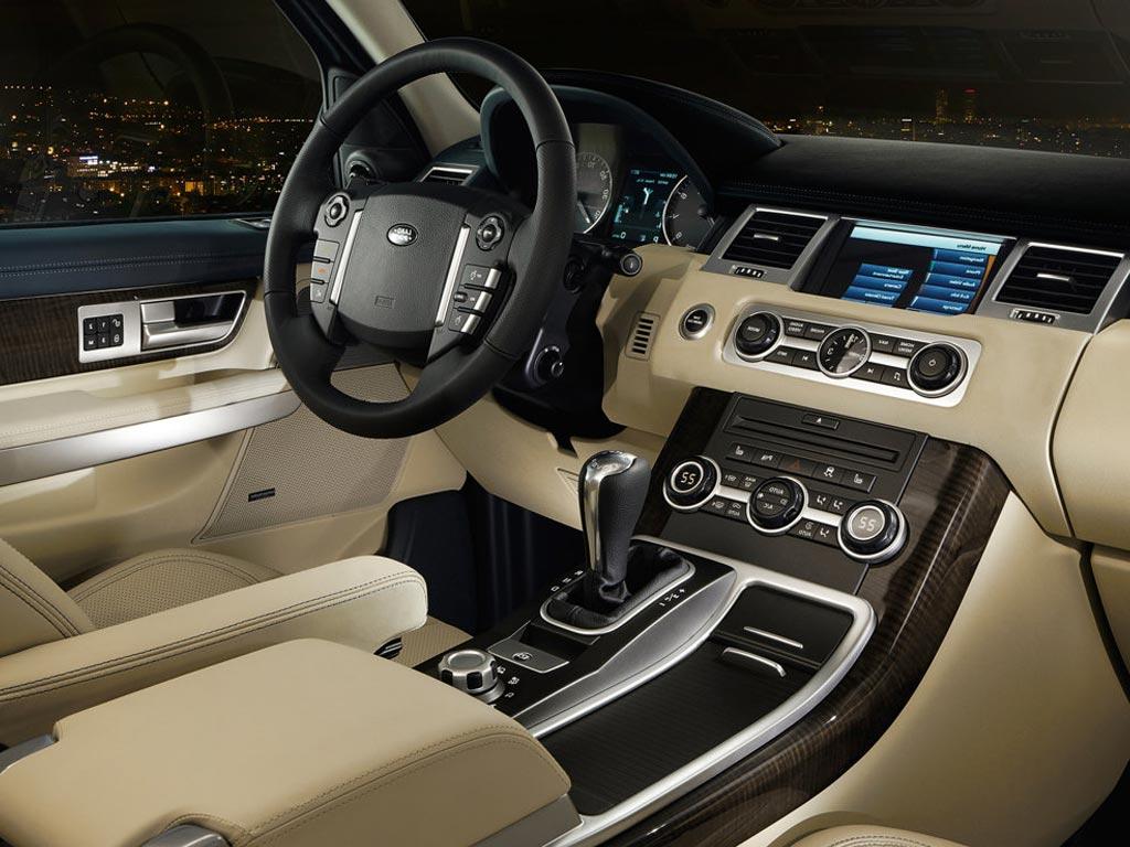 Фото интерьера Land Rover Range Rove…